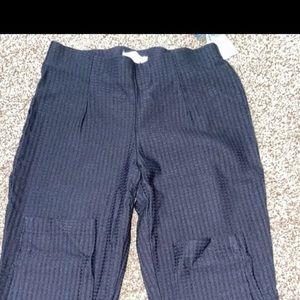 Calvin Klein black work pants
